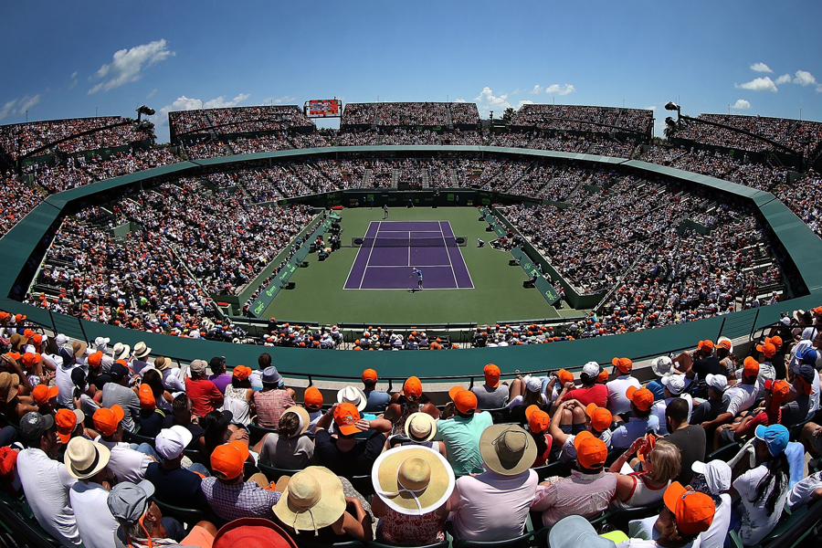 MIAMI OPEN TENNIS